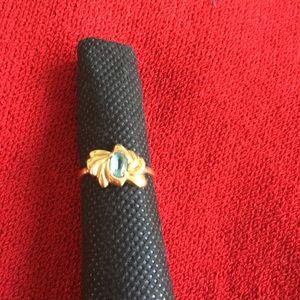 Jewelry - 14K GOLD with Blue Topaz